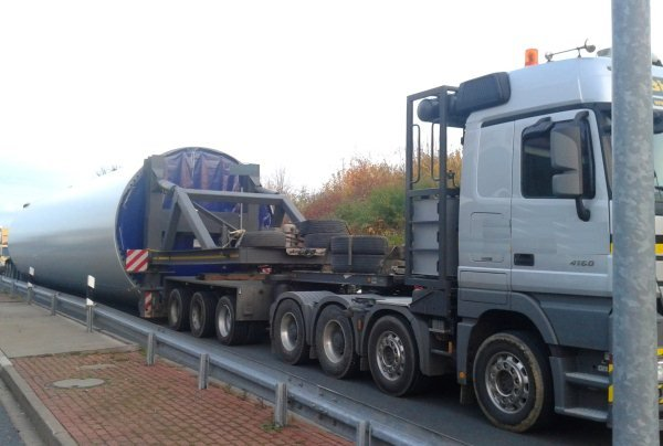 GTM Solution – Übermaßtransport nach Russland. Belgorod, 2012.