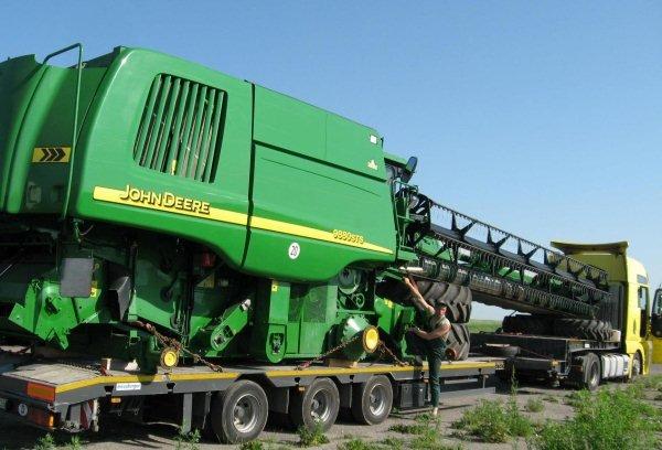 GTM Solution – Перевозка сельскохозяйственной техники «John Deere»